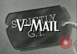 Image of V-mail United States USA, 1943, second 5 stock footage video 65675021760