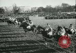Image of Horse race at Auteuil Racecourse Paris France, 1942, second 8 stock footage video 65675021780