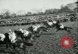 Image of Horse race at Auteuil Racecourse Paris France, 1942, second 11 stock footage video 65675021780