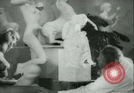 Image of German sculptor Germany, 1942, second 8 stock footage video 65675021787