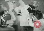 Image of German sculptor Germany, 1942, second 9 stock footage video 65675021787