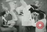 Image of German sculptor Germany, 1942, second 10 stock footage video 65675021787