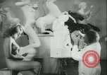 Image of German sculptor Germany, 1942, second 12 stock footage video 65675021787