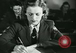 Image of German girls train for communications work in Athens Athens Greece, 1942, second 10 stock footage video 65675021788