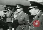 Image of Robert Ley meets with Ion Antonescu Bucharest Romania, 1942, second 7 stock footage video 65675021791