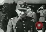 Image of Robert Ley meets with Ion Antonescu Bucharest Romania, 1942, second 10 stock footage video 65675021791
