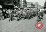 Image of Allied prisoners prisoners of war being moved through city streets Paris France, 1944, second 3 stock footage video 65675021801