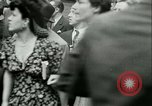 Image of Allied prisoners prisoners of war being moved through city streets Paris France, 1944, second 5 stock footage video 65675021801