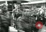 Image of Allied prisoners prisoners of war being moved through city streets Paris France, 1944, second 8 stock footage video 65675021801