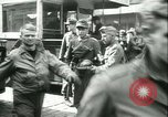 Image of Allied prisoners prisoners of war being moved through city streets Paris France, 1944, second 9 stock footage video 65675021801