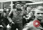 Image of Allied prisoners prisoners of war being moved through city streets Paris France, 1944, second 10 stock footage video 65675021801