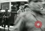 Image of Allied prisoners prisoners of war being moved through city streets Paris France, 1944, second 12 stock footage video 65675021801