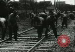 Image of German railroad France, 1940, second 2 stock footage video 65675021802