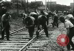 Image of German railroad France, 1940, second 3 stock footage video 65675021802