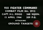 Image of VIII Fighter Command Germany, 1944, second 1 stock footage video 65675021812
