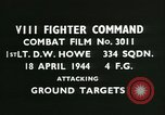 Image of VIII Fighter Command Germany, 1944, second 3 stock footage video 65675021813
