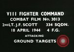 Image of VIII Fighter Command Germany, 1944, second 2 stock footage video 65675021814