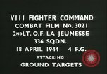 Image of VIII Fighter Command Germany, 1944, second 3 stock footage video 65675021816