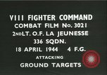 Image of VIII Fighter Command Germany, 1944, second 4 stock footage video 65675021816