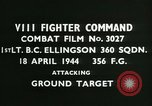 Image of VIII Fighter Command Germany, 1944, second 2 stock footage video 65675021817
