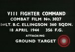 Image of VIII Fighter Command Germany, 1944, second 3 stock footage video 65675021817