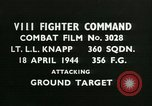 Image of VIII Fighter Command Germany, 1944, second 1 stock footage video 65675021818
