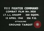 Image of VIII Fighter Command Germany, 1944, second 3 stock footage video 65675021818