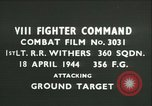 Image of VIII Fighter Command Germany, 1944, second 1 stock footage video 65675021819