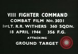 Image of VIII Fighter Command Germany, 1944, second 2 stock footage video 65675021819