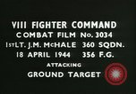 Image of VIII Fighter Command Germany, 1944, second 2 stock footage video 65675021820