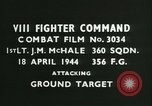 Image of VIII Fighter Command Germany, 1944, second 3 stock footage video 65675021820