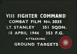 Image of VIII Fighter Command Germany, 1944, second 1 stock footage video 65675021821