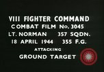 Image of VIII Fighter Command Germany, 1944, second 2 stock footage video 65675021822