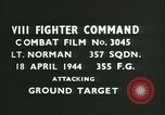 Image of VIII Fighter Command Germany, 1944, second 4 stock footage video 65675021822