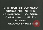 Image of VIII Fighter Command Germany, 1944, second 2 stock footage video 65675021823