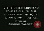 Image of VIII Fighter Command Germany, 1944, second 2 stock footage video 65675021824