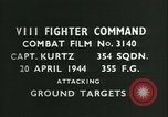 Image of VIII Fighter Command Germany, 1944, second 3 stock footage video 65675021825