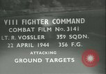 Image of VIII Fighter Command Germany, 1944, second 1 stock footage video 65675021826