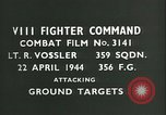 Image of VIII Fighter Command Germany, 1944, second 4 stock footage video 65675021826