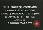 Image of VIII Fighter Command Germany, 1944, second 1 stock footage video 65675021827