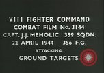 Image of VIII Fighter Command Germany, 1944, second 2 stock footage video 65675021827