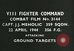 Image of VIII Fighter Command Germany, 1944, second 3 stock footage video 65675021827