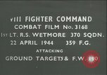Image of VIII Fighter Command Germany, 1944, second 1 stock footage video 65675021829