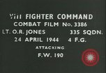 Image of VIII Fighter Command Germany, 1944, second 1 stock footage video 65675021830