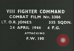 Image of VIII Fighter Command Germany, 1944, second 2 stock footage video 65675021830