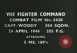 Image of VIII Fighter Command Germany, 1944, second 3 stock footage video 65675021831