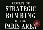 Image of Allied bombings Paris France, 1945, second 3 stock footage video 65675021871
