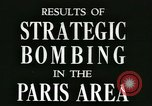Image of Allied bombings Paris France, 1945, second 7 stock footage video 65675021871