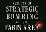 Image of Allied bombings Paris France, 1945, second 8 stock footage video 65675021871