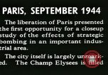 Image of Allied bombings Paris France, 1945, second 12 stock footage video 65675021871
